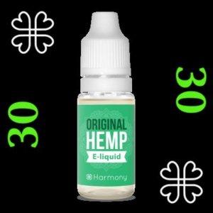 e-liquide Harmony™ CBD 30 mg saveur cannabis
