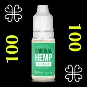 e-liquide Harmony™ CBD 100 mg saveur cannabis