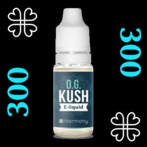 e-liquide Harmony™ CBD OG Kush 300 mg