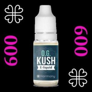 e-liquide Harmony™ CBD OG Kush 600 mg