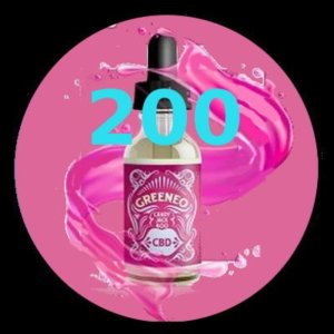 e-liquide Greeneo™ CBD 200 mg Candy Jack