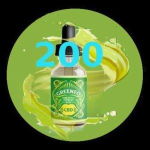 e-liquide Greeneo™ CBD 200 mg Pinapple Express