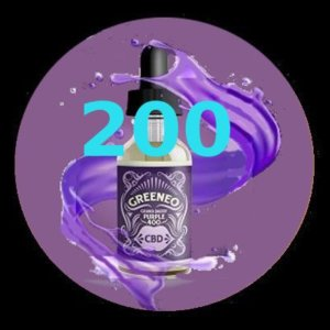 e-liquide Greeneo™ CBD 200 mg Grand Daddy Purpple