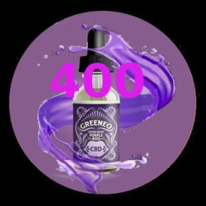 e-liquide Greeneo™ CBD 400 mg Grand Daddy Purpple